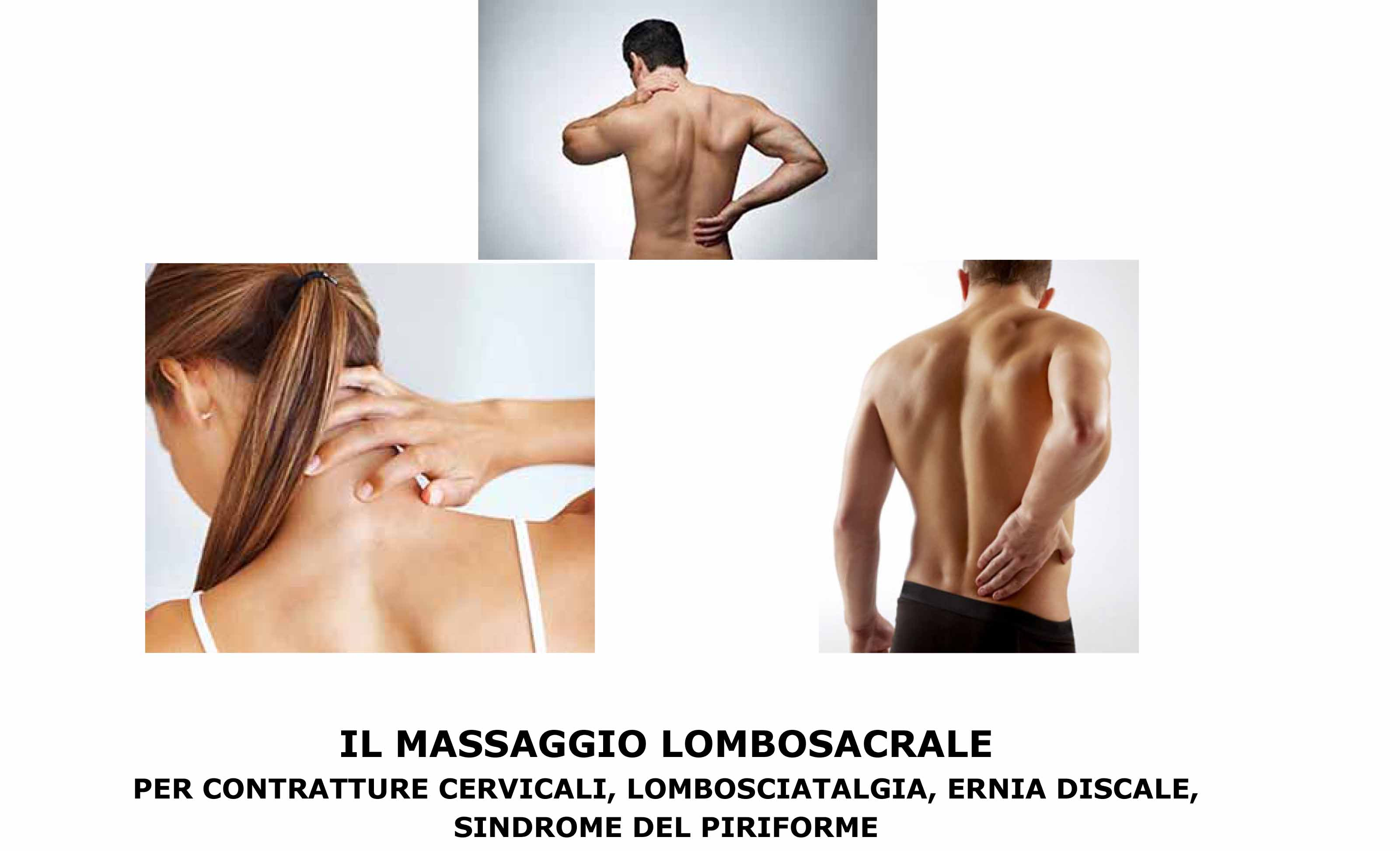 Il mio Massaggio Lombosacrale