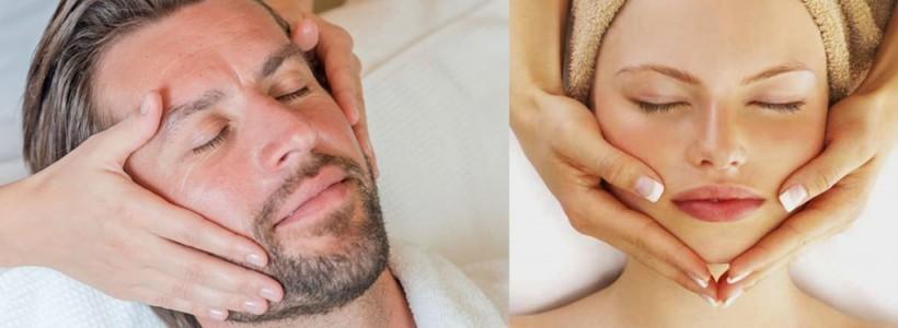 Promozione: il massaggio terapeutico al viso per donna e uomo!